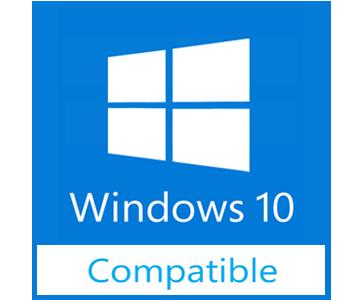 Съвместим с Windows 10